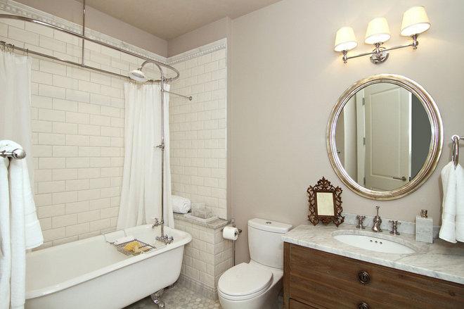 Contemporary Bathroom by Suburban Dream Homes