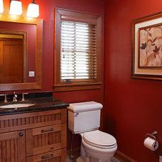 Traditional Bathroom by Knight Construction Design   Chanhassen, Minnesota