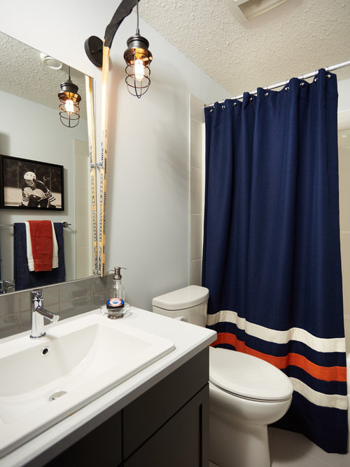 Bathroom Ideas Edmonton edmonton oilers bathroom ideas, designs & remodel photos | houzz