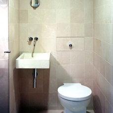 Contemporary Bathroom by Edward I. Mills & Associates, Architects PC