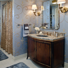 Traditional Bathroom by Edward Postiff Interiors