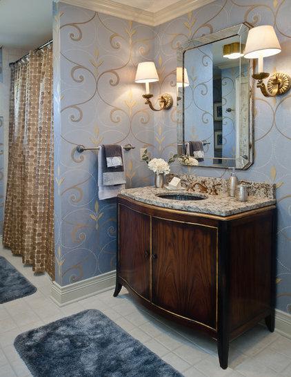 Traditional Bathroom by Edward Postiff Interiors