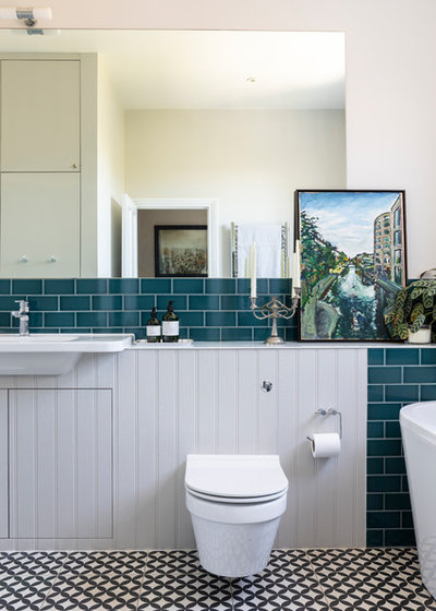 Contemporary Bathroom by Imperfect Interiors