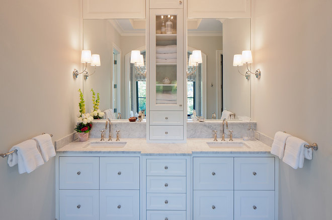 Transitional Bathroom by Scott Christopher Homes/Surpass Renovations