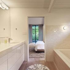 Midcentury Bathroom by Alison Damonte Design
