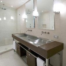 Modern Bathroom by Eisner Design LLC