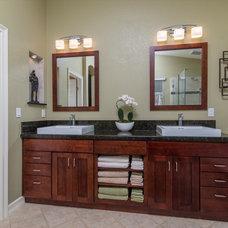 Traditional Bathroom by Remodel Works Bath & Kitchen