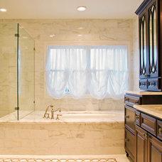 Traditional Bathroom by Texas Construction Company