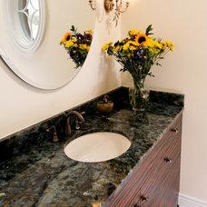 Modern Bathroom Countertops by Granitech Inc