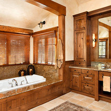Traditional Bathroom by SSArchitects