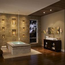 Bathroom by Eldorado Stone