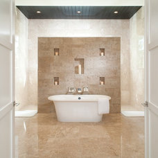 Contemporary Bathroom by Eldorado Stone