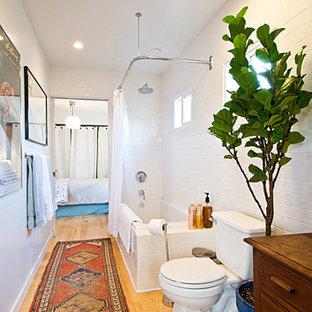 long narrow bathroom | houzz