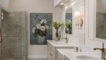 Elegant aging-in-place master suite addition