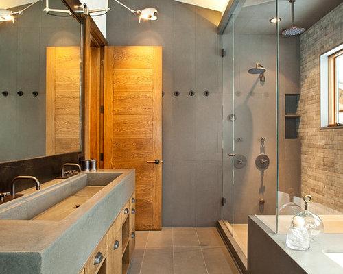 Example Of A Trendy Bathroom Design In Denver