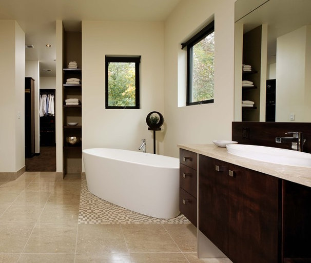 Contemporary Bathroom by KohlMark Architects and Builders