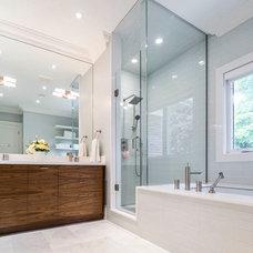 Modern Bathroom by Cazan Design Group