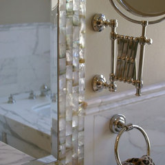 traditional bathroom by lisa rubenstein - real rooms design