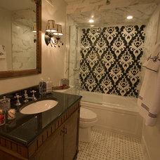 Traditional Bathroom by DM Designs