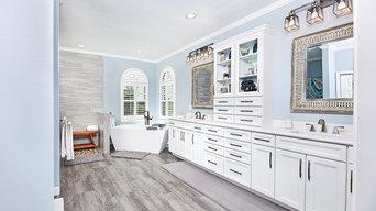 Elegant Blue Bathroom