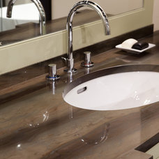 Contemporary Bathroom by Marble and Granite, Inc.