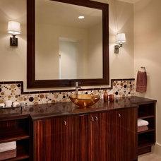 Modern Bathroom by Palmer Todd
