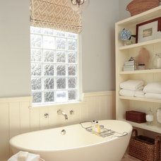 Traditional Bathroom by Lauren Leonard Interiors