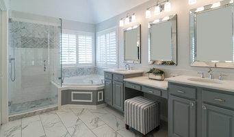 Elegant Gray & White Bathroom Remodel