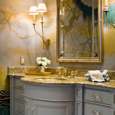 Traditional Bathroom by South Shore Millwork