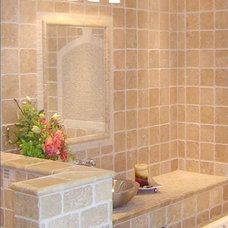 Traditional Bathroom by Elegant Tile and Stone