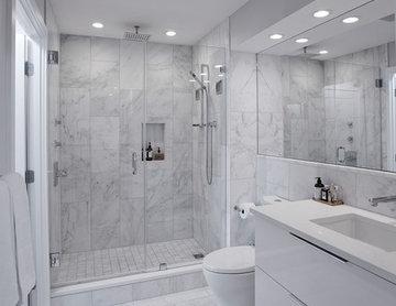 Elegant Kitchen and Bathroom Design Build in NW, Washington, DC.
