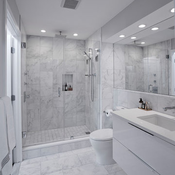 Elegant Kitchen and Bathroom Design Build in NW, Washington, DC.