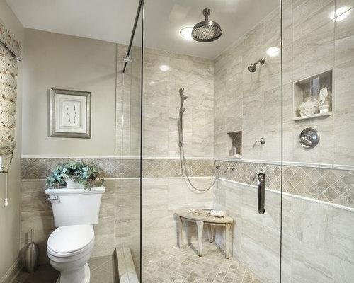 50 Best Beige Tile Bathroom Ideas & Remodeling Photos | Houzz