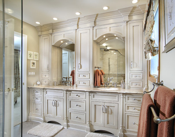 Traditional Bathroom by Angie Keyes CKD