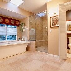 Traditional Bathroom by Kona Contractors