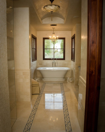 Traditional Bathroom by Milk and Honey Design