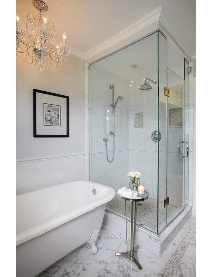 Traditional Bathroom by Jacqueline Glass and Associates