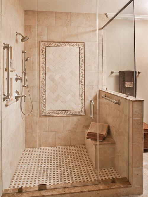 Elegant master suite - Image douche italienne ...