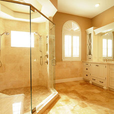 Traditional Bathroom by S&W Kitchens