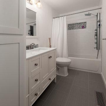 Elegant Petroleum Bathroom