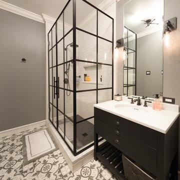 Elegant Restoration and Update - Shower Room
