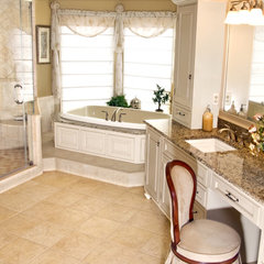 bathroom by Harvey's Kitchens and Baths
