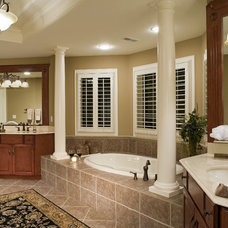 Traditional Bathroom by John Hall Custom Homes