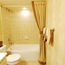 Traditional Bathroom by JB Interiors, Inc.