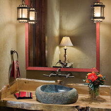 Traditional Bathroom by Teton Heritage Builders