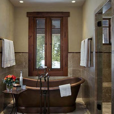 Traditional Bathroom by Montana Reclaimed Lumber Co.
