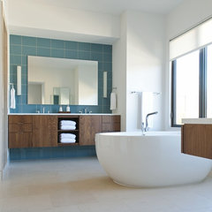 contemporary bathroom by Ellen Grasso & Sons, LLC