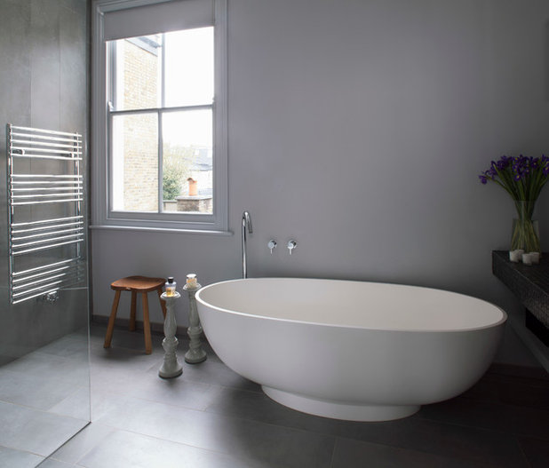 Contemporary Bathroom by Magentapink Interiors