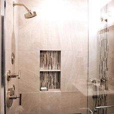 Asian Bathroom by Thorsen Construction