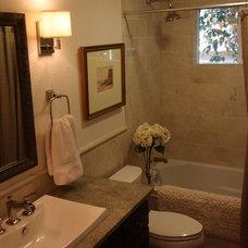 Eclectic Bathroom by Elliott Interiors
